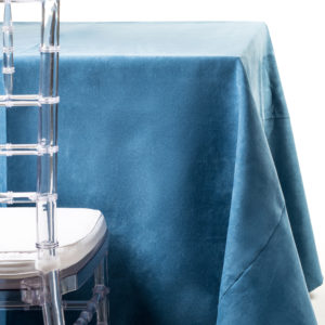 denim suede tablecloth