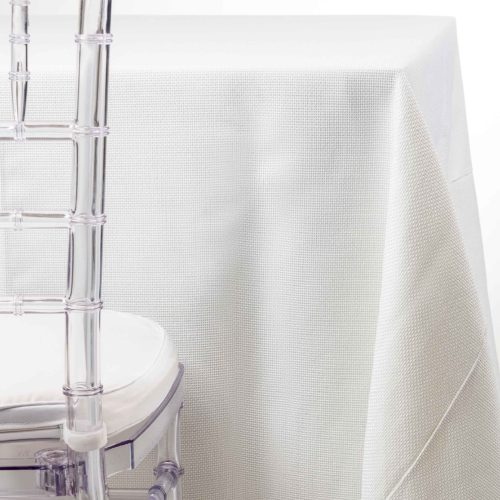white burlap tablecloth rentals in NJ