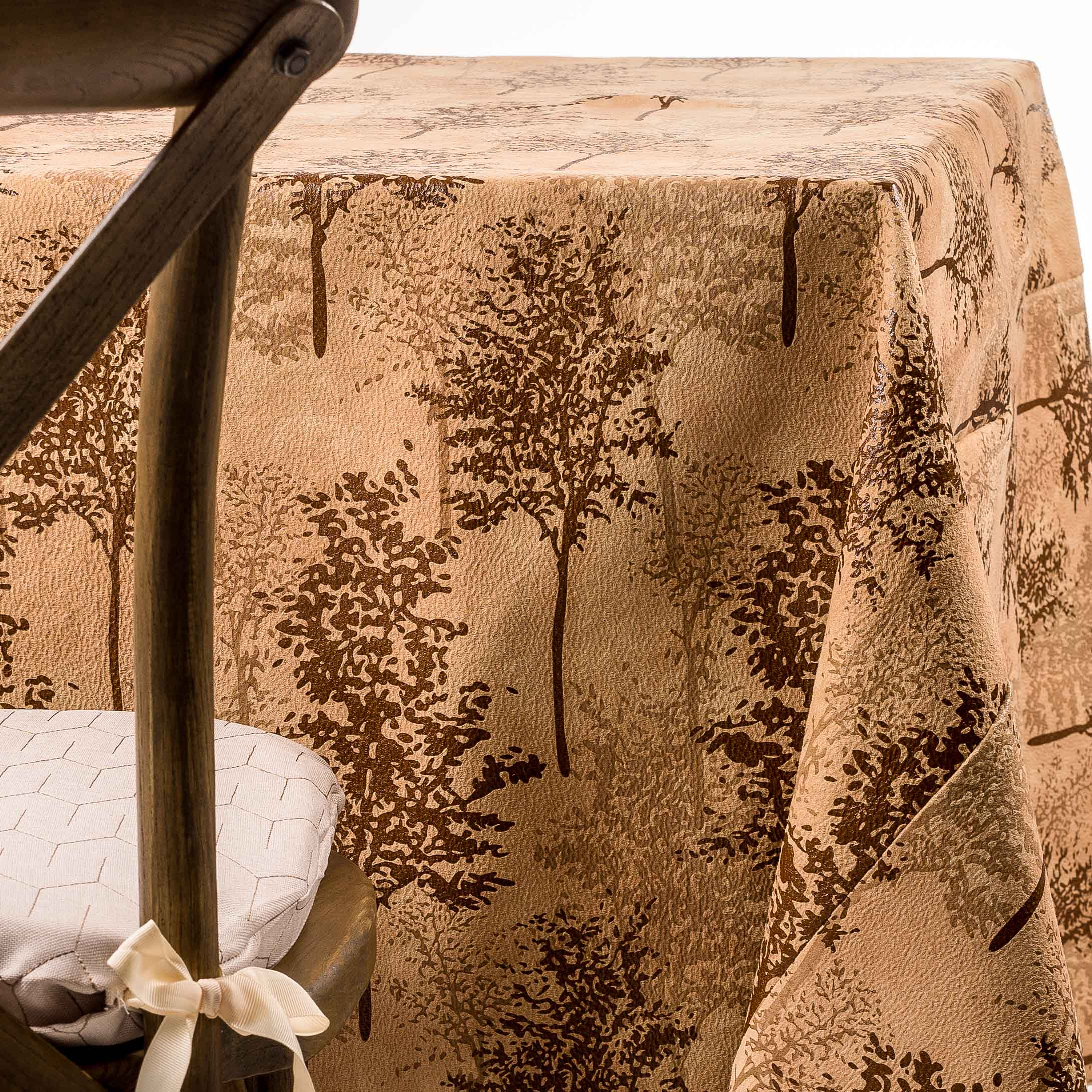 leather trees tablecloth rentals in NJ