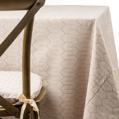 natural quilted