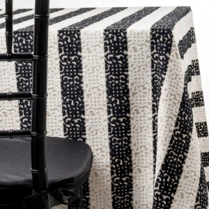domino tablecloth